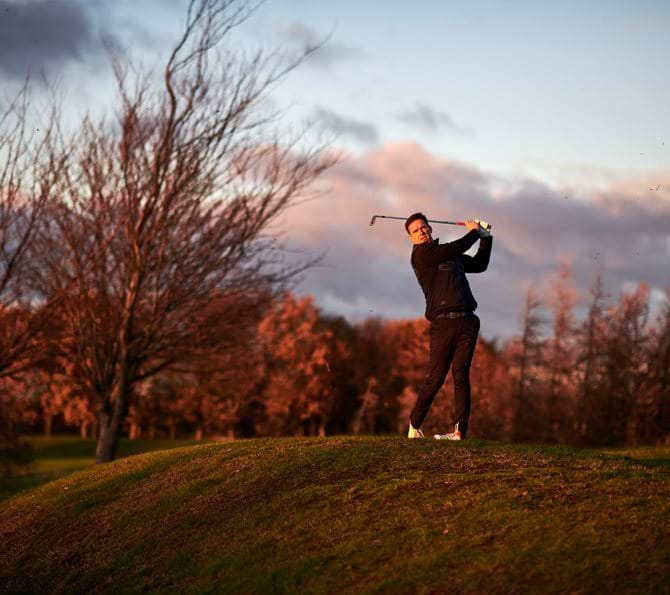 Oulton Golf Swing